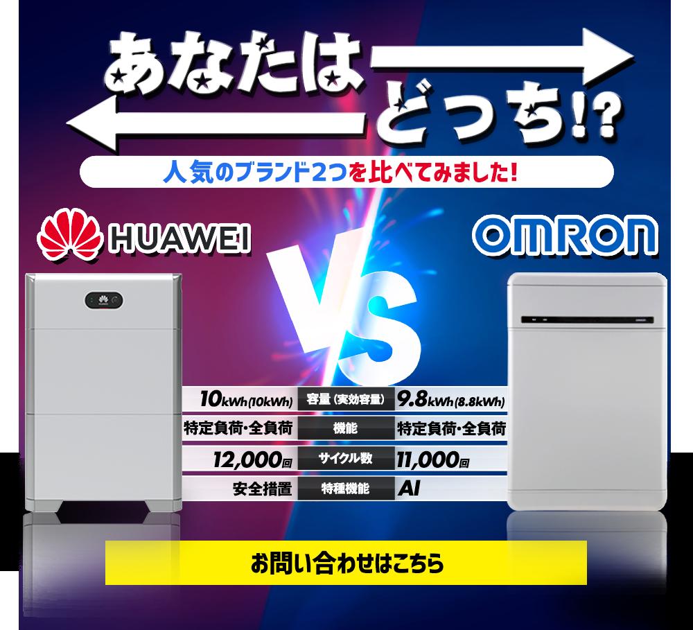 人気のブランド2つを比べてみました!HUAWEI vs OMRON