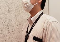 マスク着用のご協力をお願い いたします。
