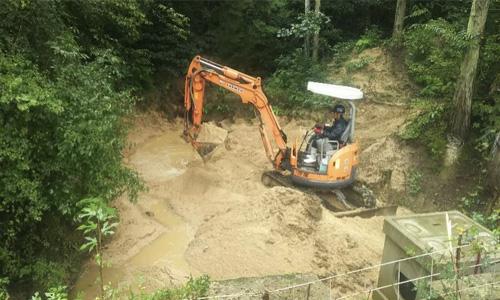 実績画像01-香川県琴平町土砂災害復旧工事