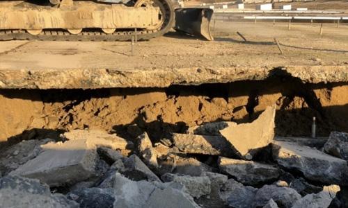 実績画像03-奈良県奈良市土砂災害復旧工事