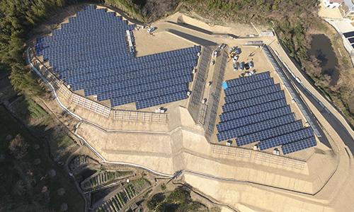 実績画像02-香川県さぬき市太陽光建設用地造成