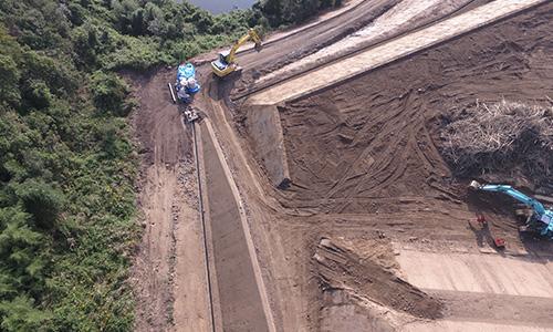 実績画像03-香川県さぬき市太陽光建設用地造成