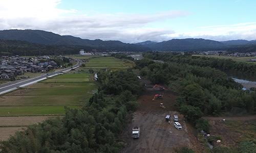 実績画像03-高島市太陽光建設用地造成
