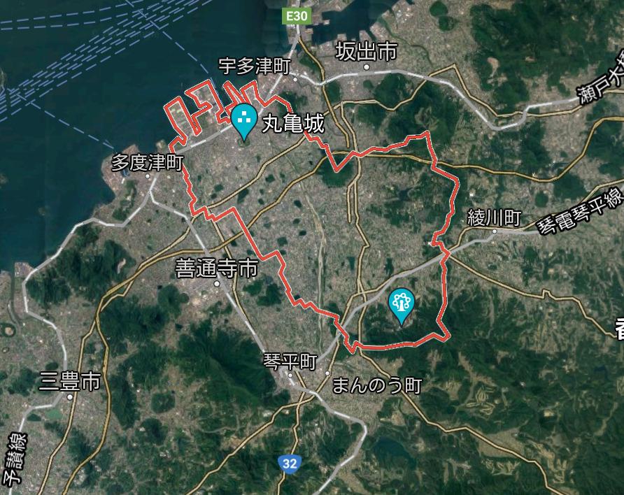 香川県丸亀市-日本最大級の太陽光発電の販売サイトとくとくサービス