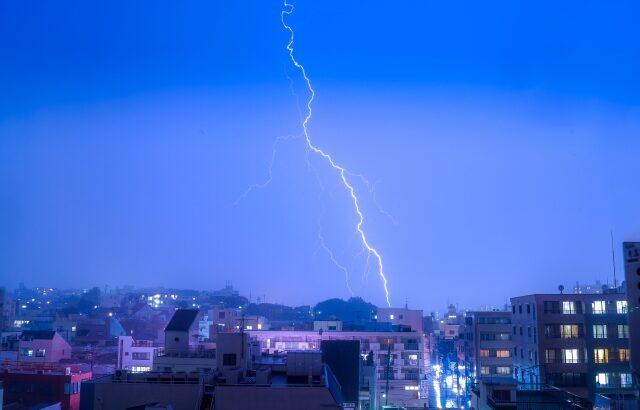 台風シーズンに備えて!太陽光発電の豪雨対策を知ろう
