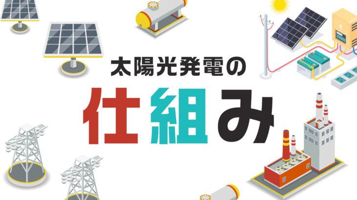 太陽光発電所の仕組み