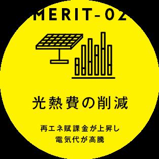 [MERIT02] 光熱費の削減