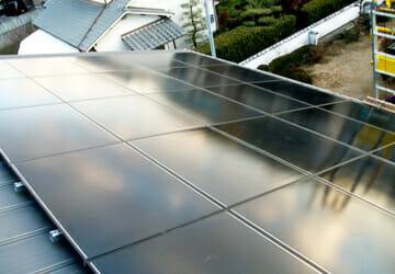 実績・評判口コミ画像03-ソーラーフロンティア 太陽光発電システム 4kW 兵庫県 N様