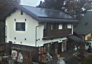 実績・評判口コミ画像01-東芝 太陽光発電システム 5.88kW 長野県 O様