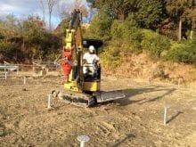 実績・評判口コミ画像02-産業用太陽光発電システム 140kW 徳島県 山の上