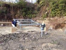 実績・評判口コミ画像03-産業用太陽光発電システム 140kW 徳島県 山の上
