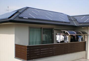 実績・評判口コミ画像01-三菱 太陽光発電システム 3.57kW 高知県 市川様