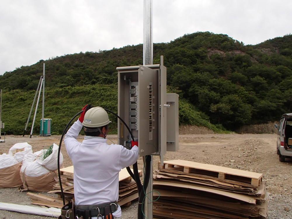 実績・評判口コミ画像03-産業用太陽光発電システム 92.6kW 群馬県邑楽郡