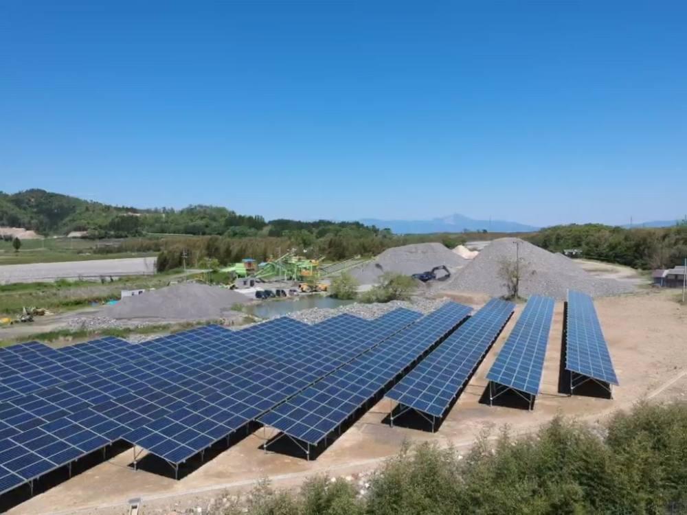 実績・評判口コミ画像01-産業用太陽光発電システム 2033.0kW 滋賀県高島市