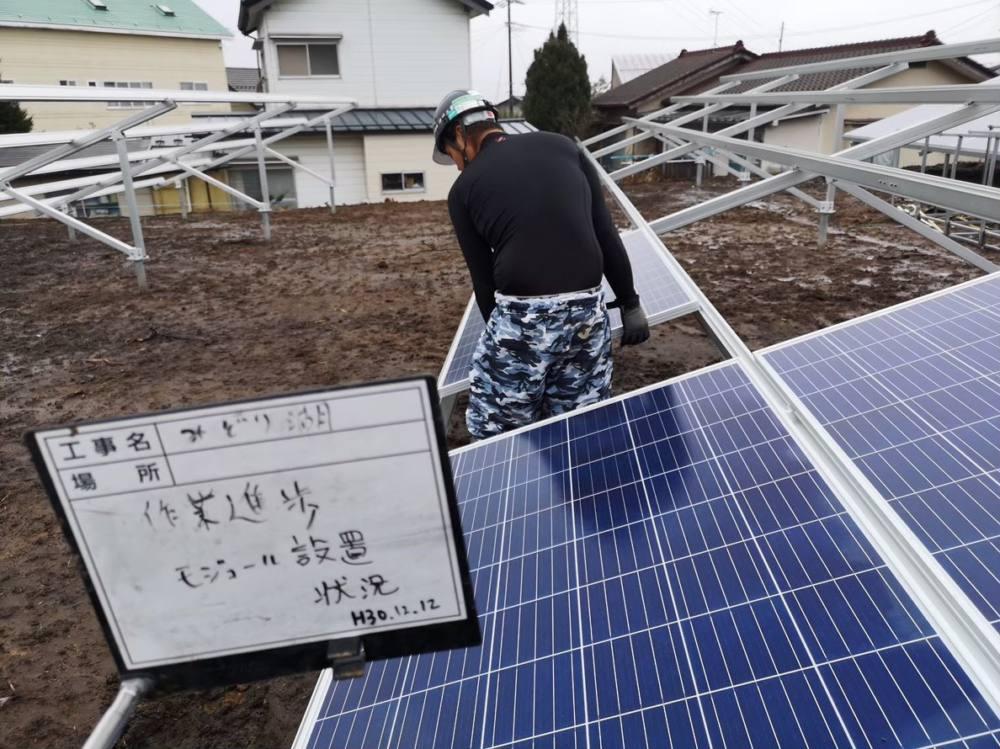 実績・評判口コミ画像03-産業用太陽光発電システム 77.0kW 長野県塩尻市