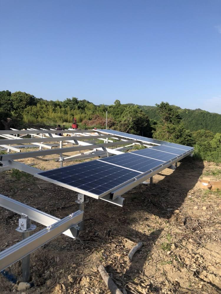実績・評判口コミ画像02-産業用太陽光発電システム 66.0kW 高知県安芸郡