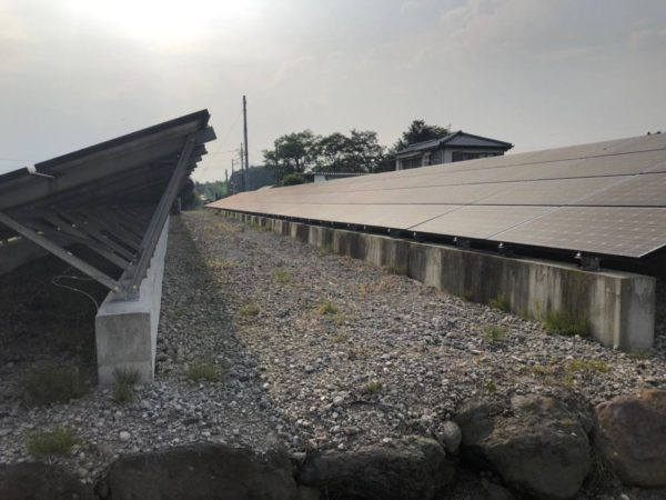 群馬県前橋市 49.5kw 低圧 メンテナンス