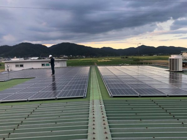 滋賀県近江八幡市 40kw 低圧 メンテナンス