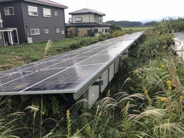茨城県常陸太田市 49.8kw 低圧 メンテナンス