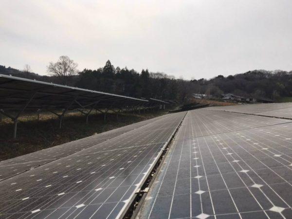 奈良県五条市 49.5kw 低圧 メンテナンス