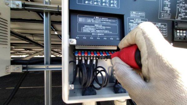 実績・評判口コミ画像02-岡山県津山市 49.9kw 低圧 メンテナンス