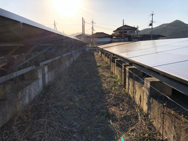 実績・評判口コミ画像01-兵庫県西脇市 47.6kw 低圧 メンテナンス