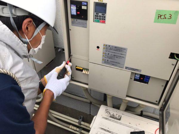 実績・評判口コミ画像03-大阪府泉南市41.0kw低圧 メンテナンス