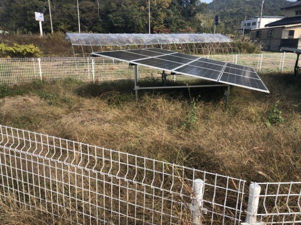実績・評判口コミ画像01-愛媛県 49.5kW 低圧 メンテナンス