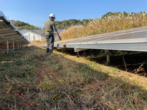 実績・評判口コミ画像02-高知県 49.5kW   低圧  メンテナンス