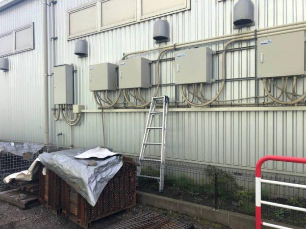 神奈川県 44kW 低圧 メンテナンス