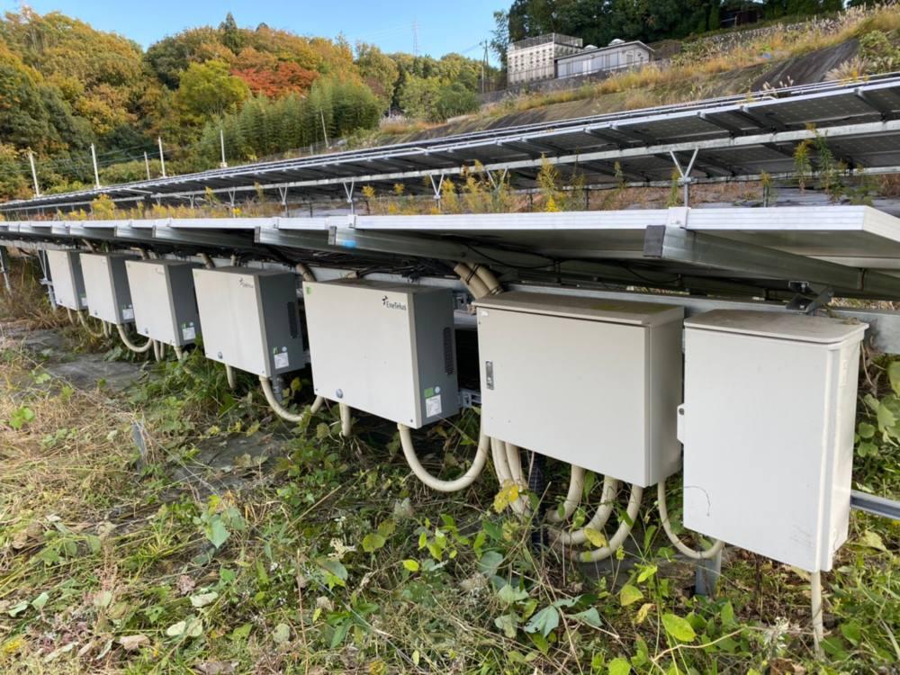 岐阜県 49.5kWh 低圧 メンテナンス