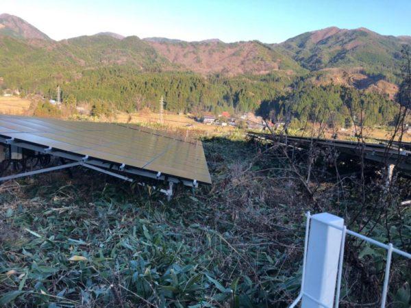 実績・評判口コミ画像02-岡山県苫田郡 90kWh  高圧 メンテナンス