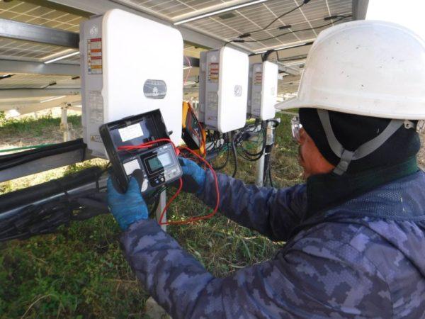 愛媛県 49.5kWh低圧 メンテナンス
