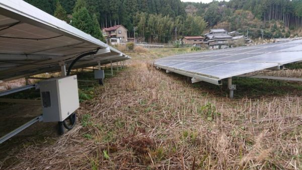 三重県 49.5kW低圧 メンテナンス