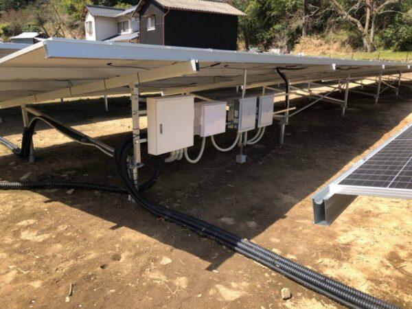 実績・評判口コミ画像01-産業用太陽光発電システム  115.2kW 岡山県加賀郡