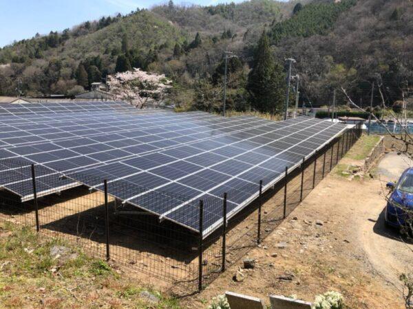 実績・評判口コミ画像02-産業用太陽光発電システム  115.2kW 岡山県加賀郡