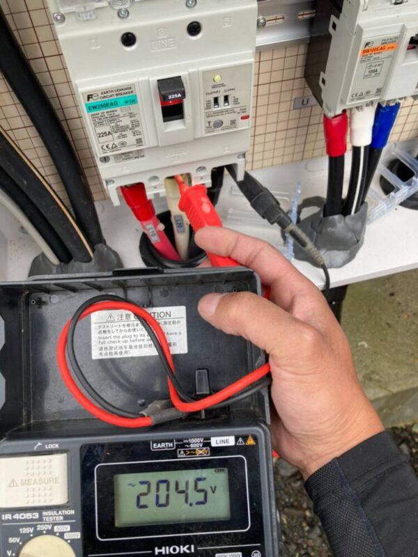 長崎県 49.5kW  低圧 メンテナンス