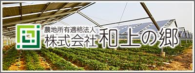 営農型太陽光発電 和上の郷