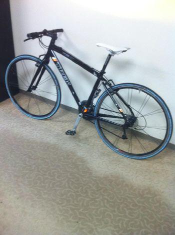 クルマと自転車、どちらが体にいいのか、目下検討中です